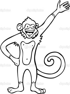 Waving Monkey